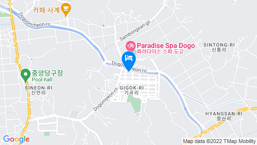 Asan Time Oncheon Hotel Map