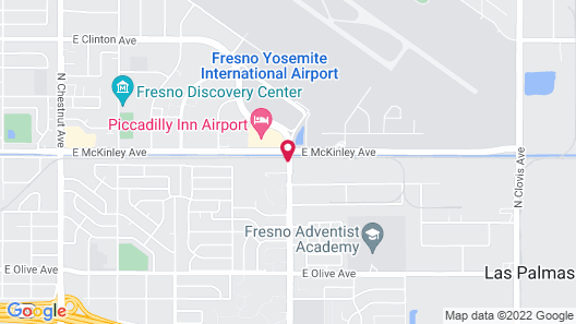 Fairfield Inn&Suite by Marriott Fresno Yosemite Intl Airport Map