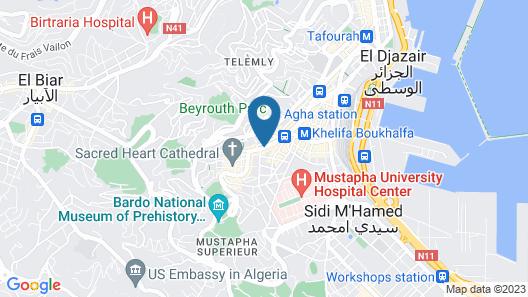 Samir Hotel Map
