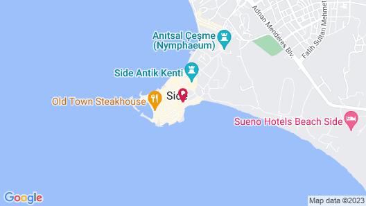 Antonios Motel Map