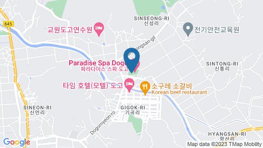 Liaju Spa & Hotel Map
