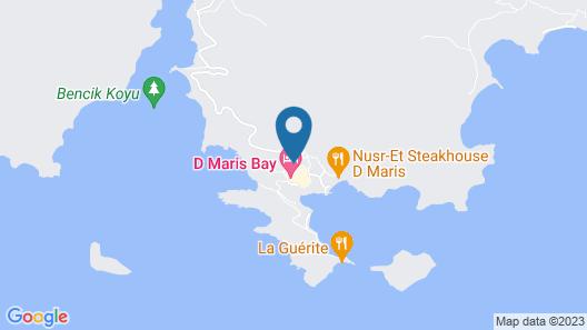 D Maris Bay Map