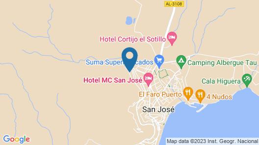 Villa Blanca Views & Pool Map