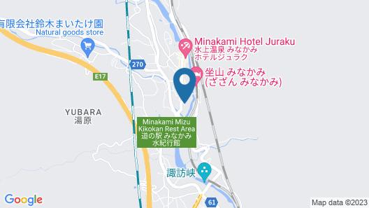 Oyado Enjoy The Natural Water MICASA Map
