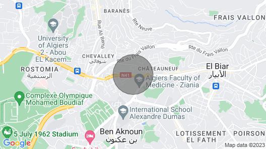 Super Appartement F2 Alger 2 Alger Algeria Map