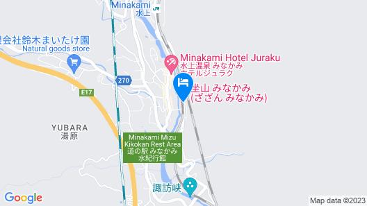 Minakamikan Map