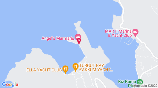 Angel's Marmaris Map