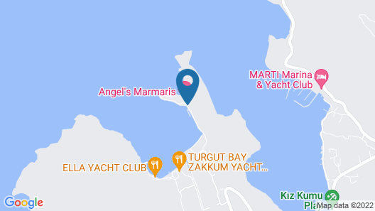 Angel's Marmaris Map