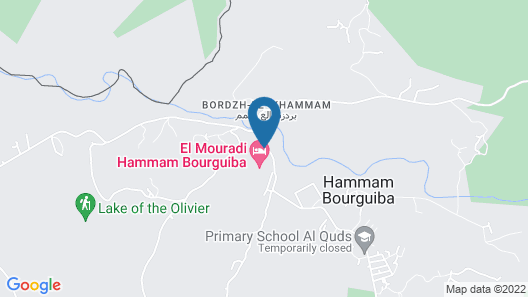 El Mouradi Hammam Bourguiba Map