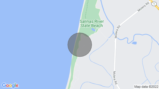 Monterey Dunes Beachfront, Sand, Surf - Book now Without Waiting - Instant Confirmation Map