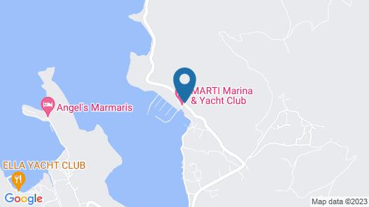 Martı Hemithea Hotel Map