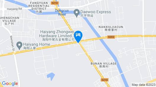 Home Inn Yantai Haiyang Bus Station Map