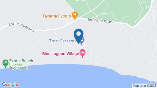 Blue Lagoon Village - All Inclusive Map