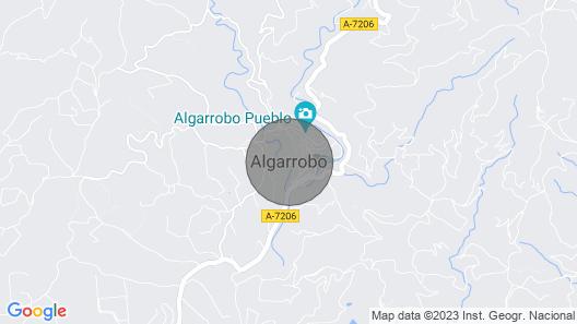 Fünf Minuten vom Meer Entfernt, Schläft Vier in Algarrobo ein Schönes Dorf Map