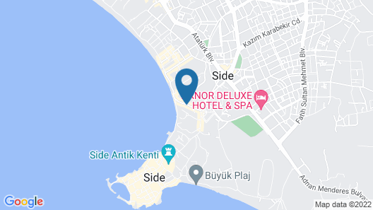 Sunprime Dogan Side Beach - Adults Only Map