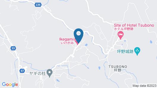Oyado Ikegami Map