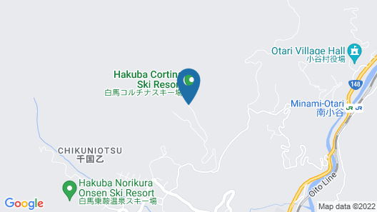 Hotel Green Plaza Hakuba Map