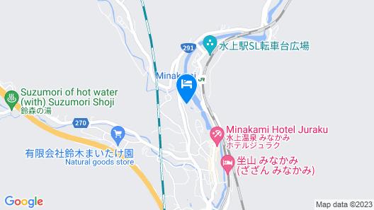 Gensenyu no Yado Matsunoi Map