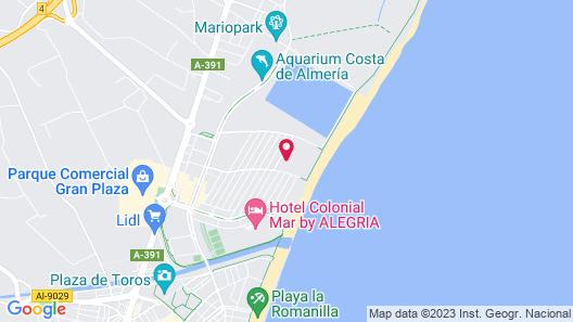 Apartamentos Mar y Sal Map