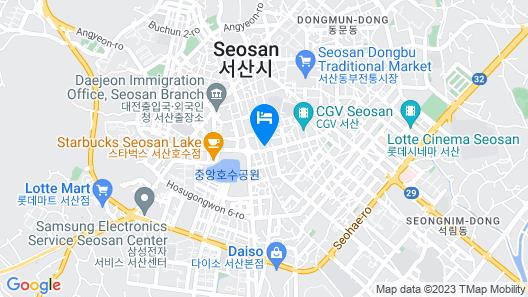 Seosan Browndot Hotel Map