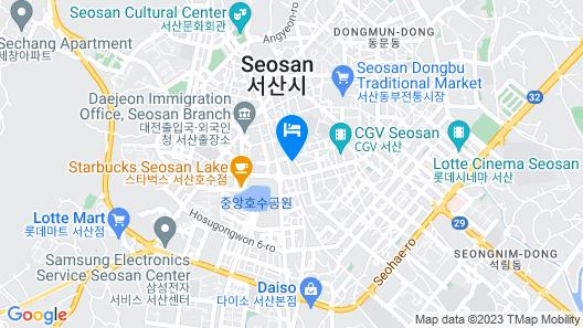 Aria Hotel Seosan Map