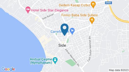 Angora Hotel Side Map