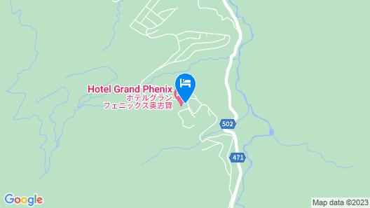 Hotel Grand Phenix Okushiga Map