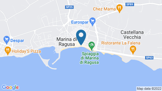 Hotel Aria di Mare Map