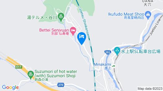 Tanigawadake Raspberry Youth Hostel Map
