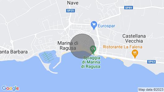 Talè Talè Apartment Just 90m From the Sandy Beach Map