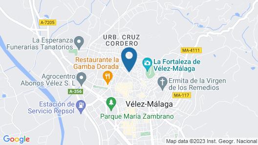 Hotel Palacio Blanco Map