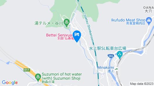 Bettei Senjyuan Map