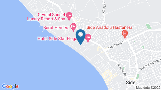 Defne Ana Map