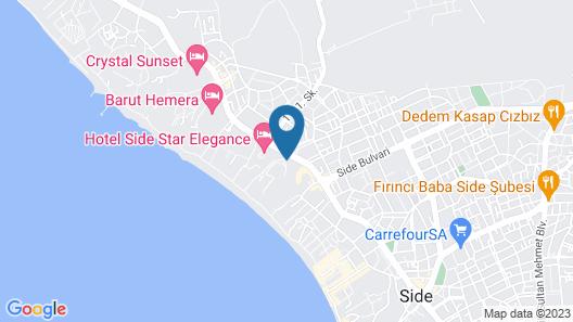 Horus Paradise Luxury Resort Map