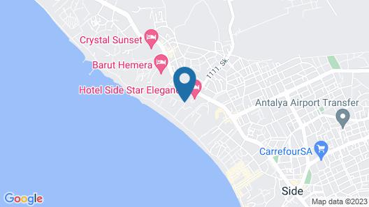 Defne Defnem Hotel Map