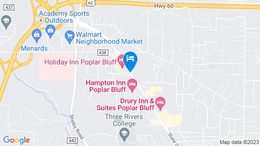 Holiday Inn Poplar Bluff, an IHG Hotel Map