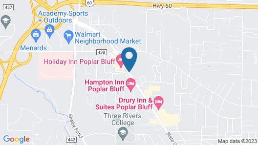 Holiday Inn Poplar Bluff Map