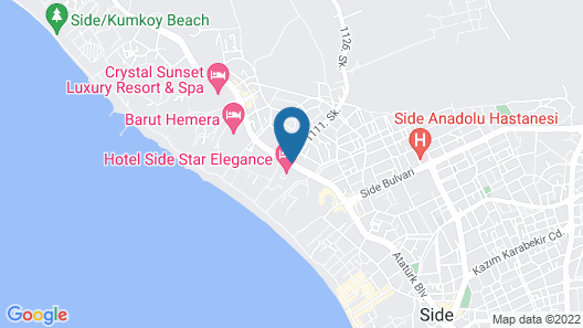Side Star Elegance Hotel - All Inclusive Map