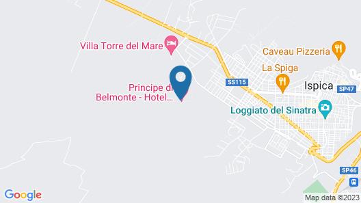 Villa Principe di Belmonte Map