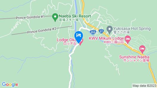 Lodge Oka Map