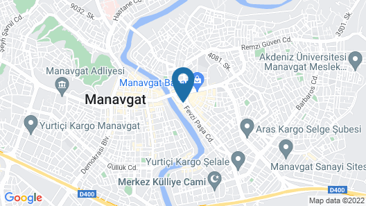 Otel Durkaya Map