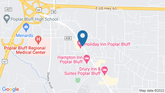 Super 8 by Wyndham Poplar Bluff Missouri Map