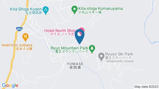 T Hotel Ryuoo Map