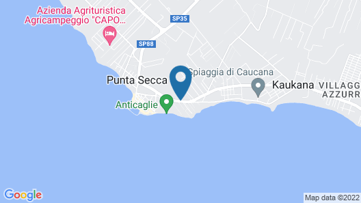 Kaucana Inn Map