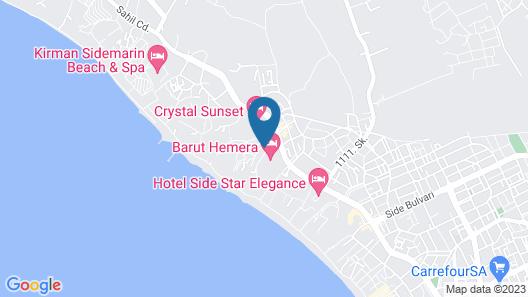 Melas Holiday Village - All Inclusive Map