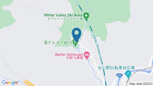 Ryokan Tanigawa Map