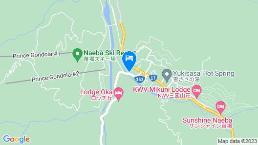 Ouji Pension Naeba Map