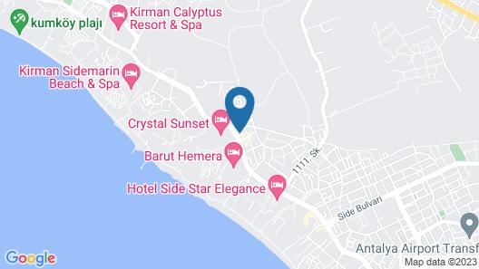 Orient Apart Hotel Map
