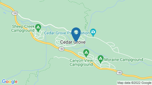 Cedar Grove Lodge Map