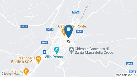 Scicli Albergo Diffuso Map